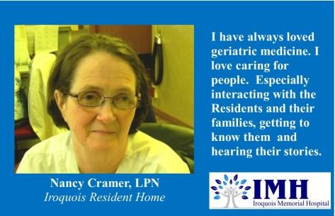 01-05-2018 Nancy Cramer , LPN-superstar